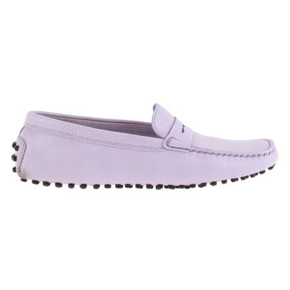 Tod's Moccasins in Lilac