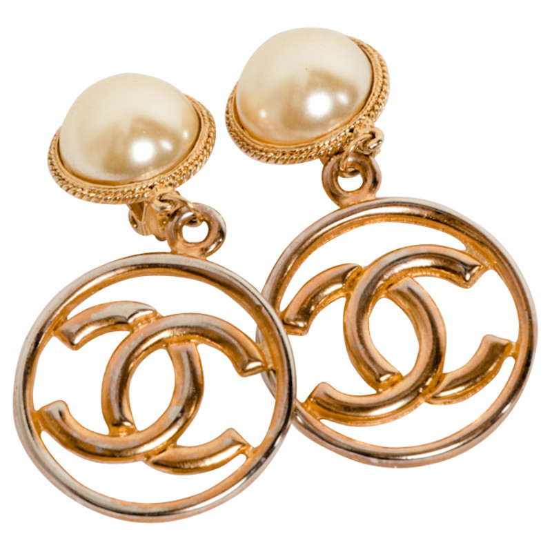 Chanel Golden earrings