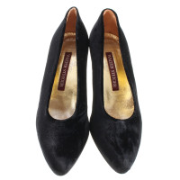 Walter Steiger Pumps with velvet
