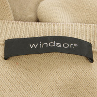 Windsor Cardigan in zand