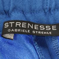Strenesse Blauwe brede broek