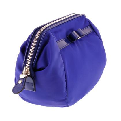 Salvatore Ferragamo Cosmetic bag in blue