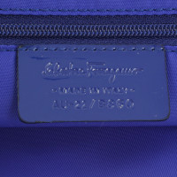Salvatore Ferragamo Cosmetic bag in blue