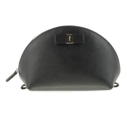 Salvatore Ferragamo Cosmetic bag in black