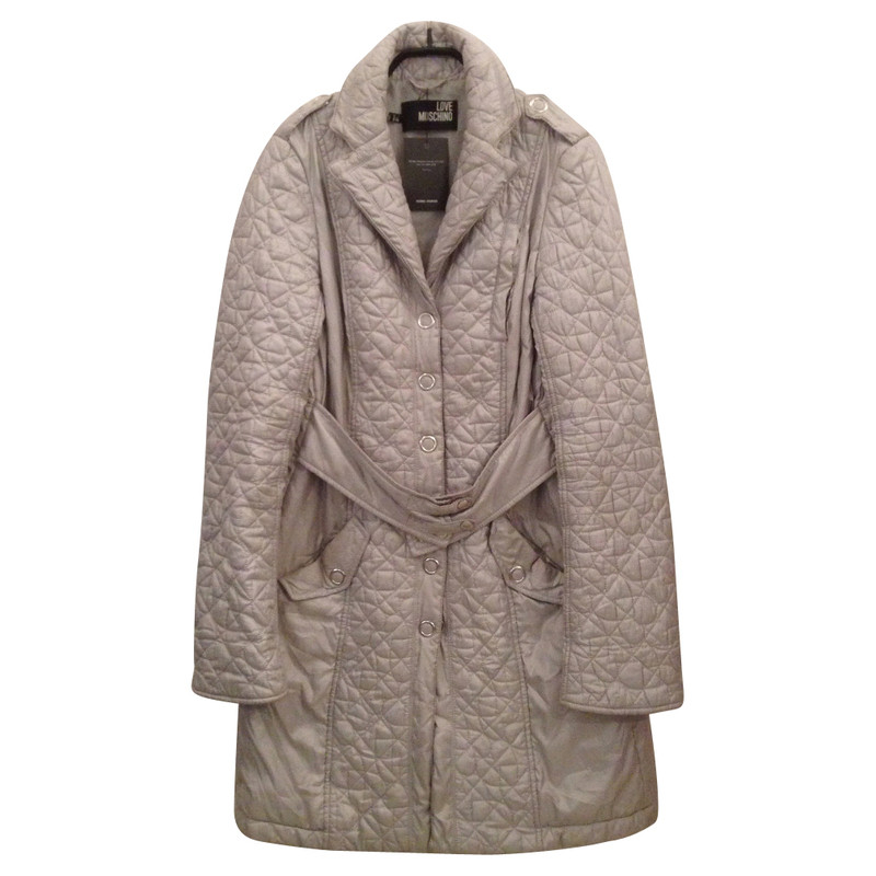 Moschino Silver coat