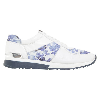 Michael Kors Sneakers in blauw / wit