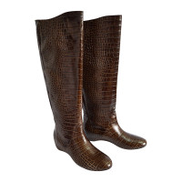 Laurèl Boot in brown leather