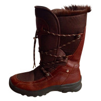 Bogner Winter boots made of leather and fur