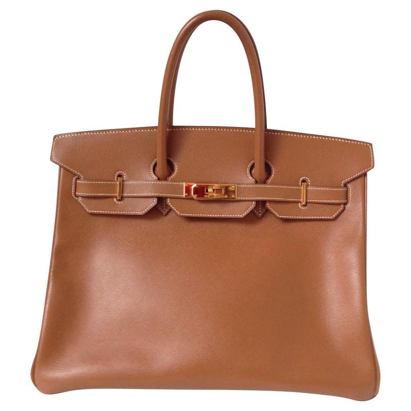 Hermès Birkin zak 35 gouden Epsom