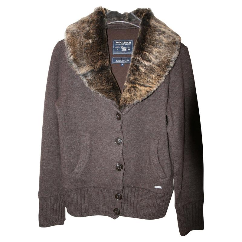 Woolrich Vest met kraag
