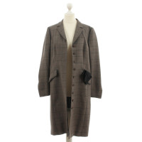 Rena Lange Coat with plaid pattern