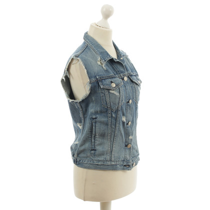 Rag & Bone Denim vest in the used look