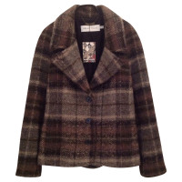 See by Chloé Coat with check pattern