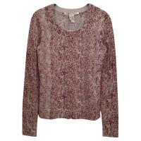 Diane von Furstenberg Leo Print sweater