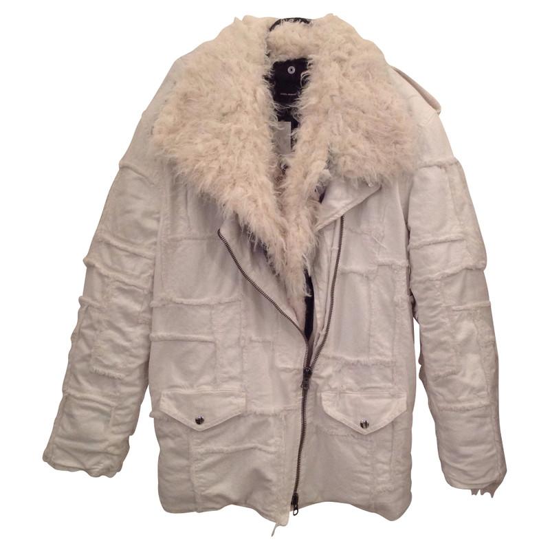 Isabel Marant White winter coat