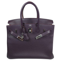 Hermès  BIRKIN BAG - 35 RAISIN TOGO PALLADIUM