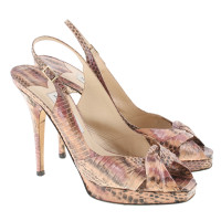 Jimmy Choo Peep-toes reptile leather