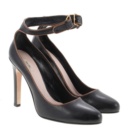 Miu Miu Riemchen-Pumps in black
