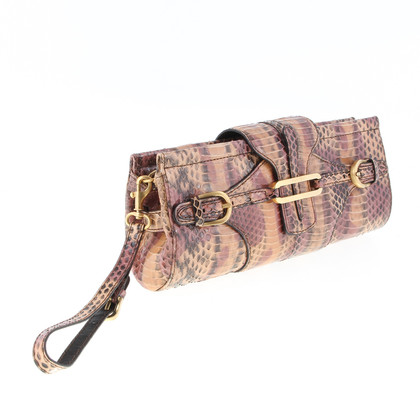 Jimmy Choo Snake leather clutch