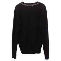 Equipment Black cashmere sweater