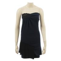 Vanessa Bruno Asymmetric dark blue dress