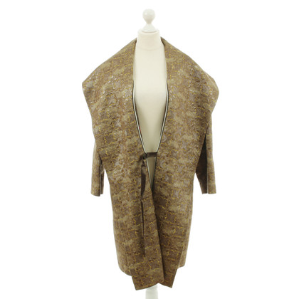 Paul Smith Jacquard cappotto con collo a scialle