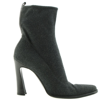 Dolce & Gabbana Grey ankle boots