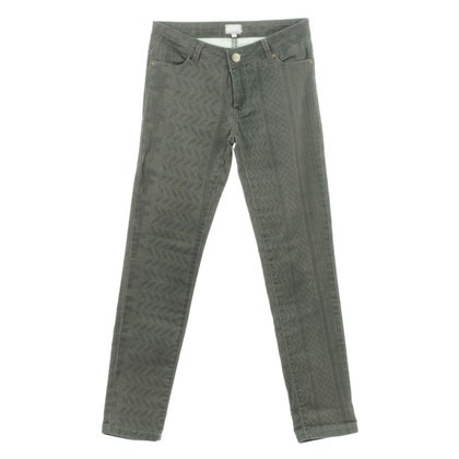 Lala Berlin Grey patterned jeans