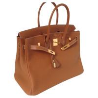 Hermès Birkin zak 35 gouden Togo