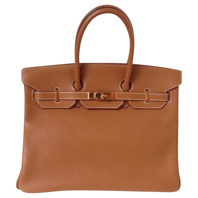 Hermès Birkin Bag 35 Gold Togo