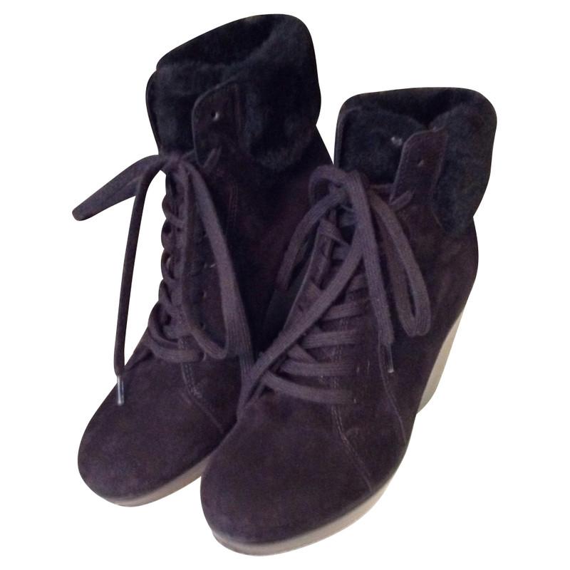 Hogan Booties with wedge heel