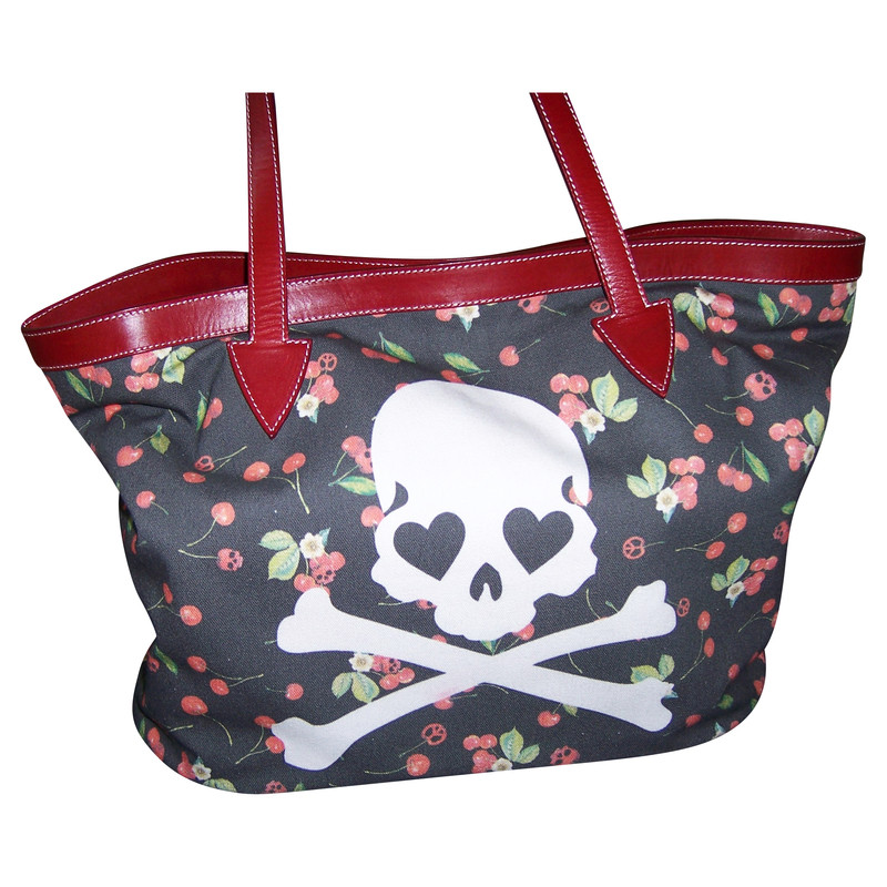 Philipp Plein Shoppers with skull