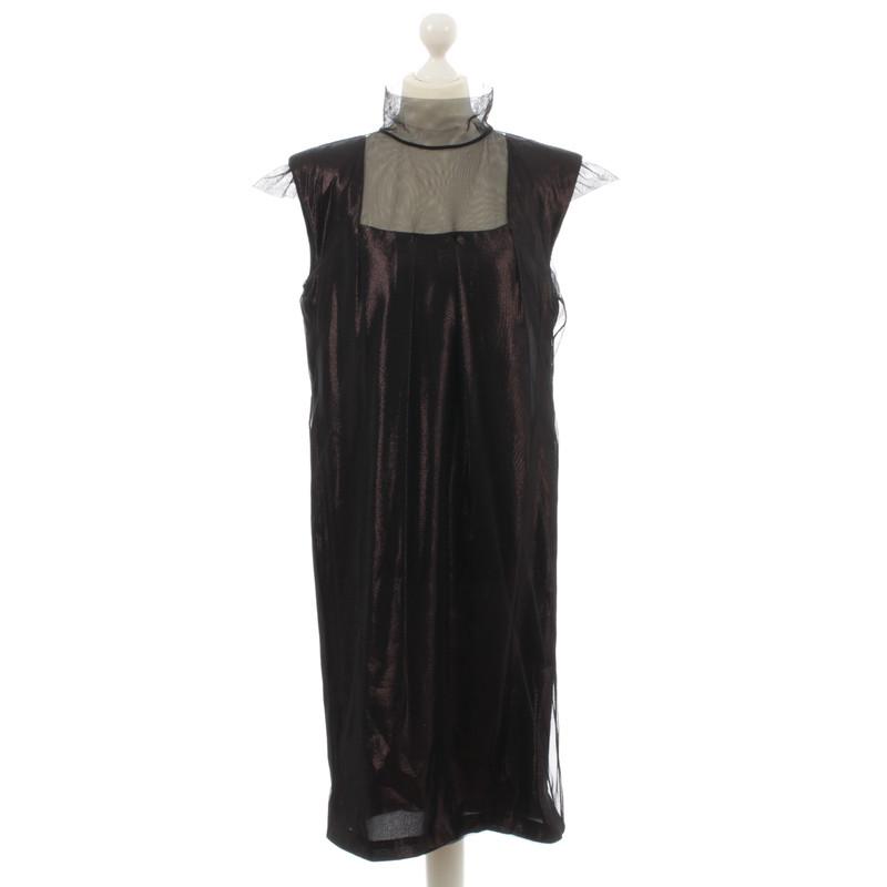Alberta Ferretti Twee-gelaagde jurk