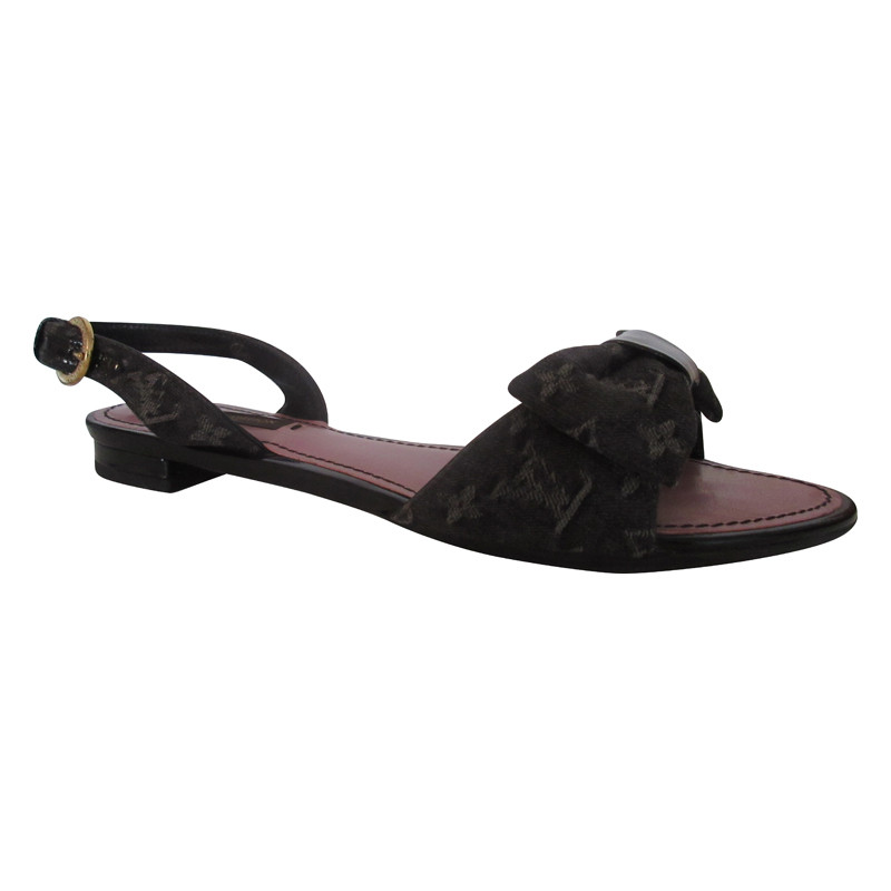Louis Vuitton  Sandalen Monogram