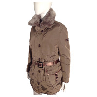 Peuterey Quilted Jacket in Brown