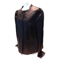 Miu Miu Silk jacket in black
