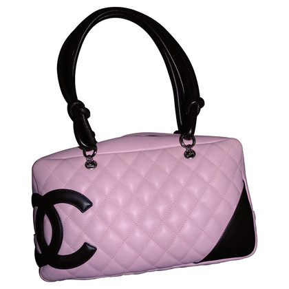 chanel tasche cambom in rosa second hand chanel tasche. Black Bedroom Furniture Sets. Home Design Ideas