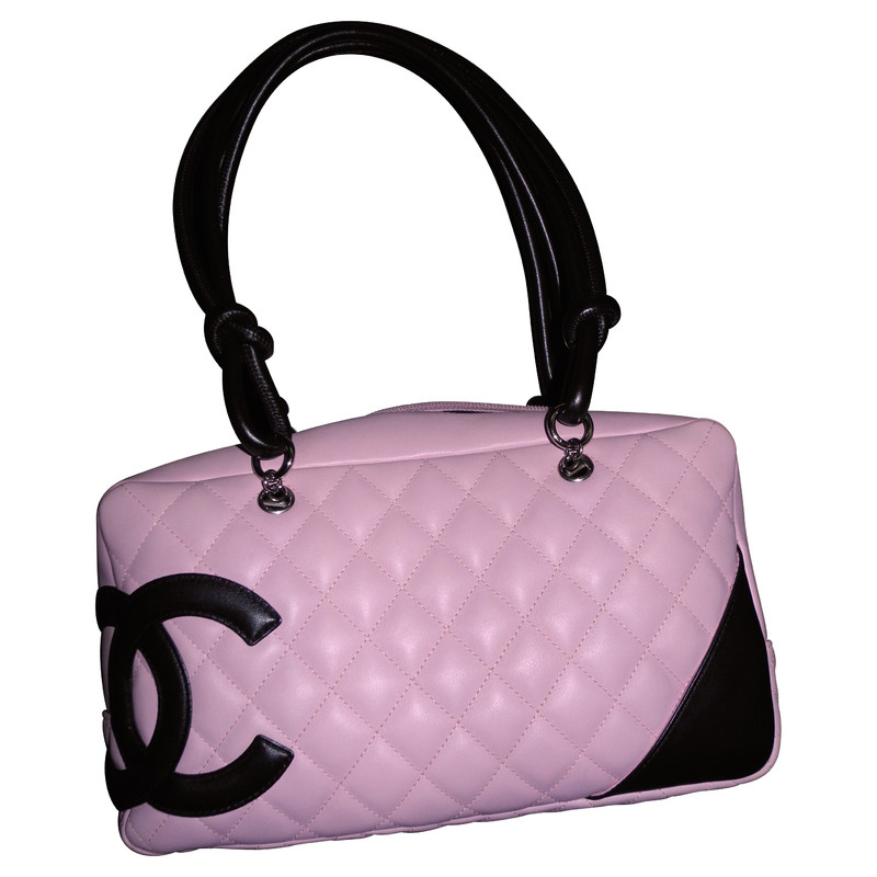 chanel tasche cambom in rosa second hand chanel tasche cambom in rosa gebraucht kaufen f r 850. Black Bedroom Furniture Sets. Home Design Ideas