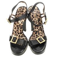Dolce & Gabbana Sandaletten mit Logo-Schließe