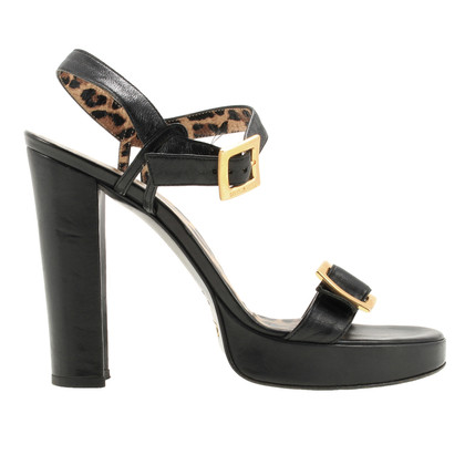 Dolce & Gabbana Sandals with logo buckle