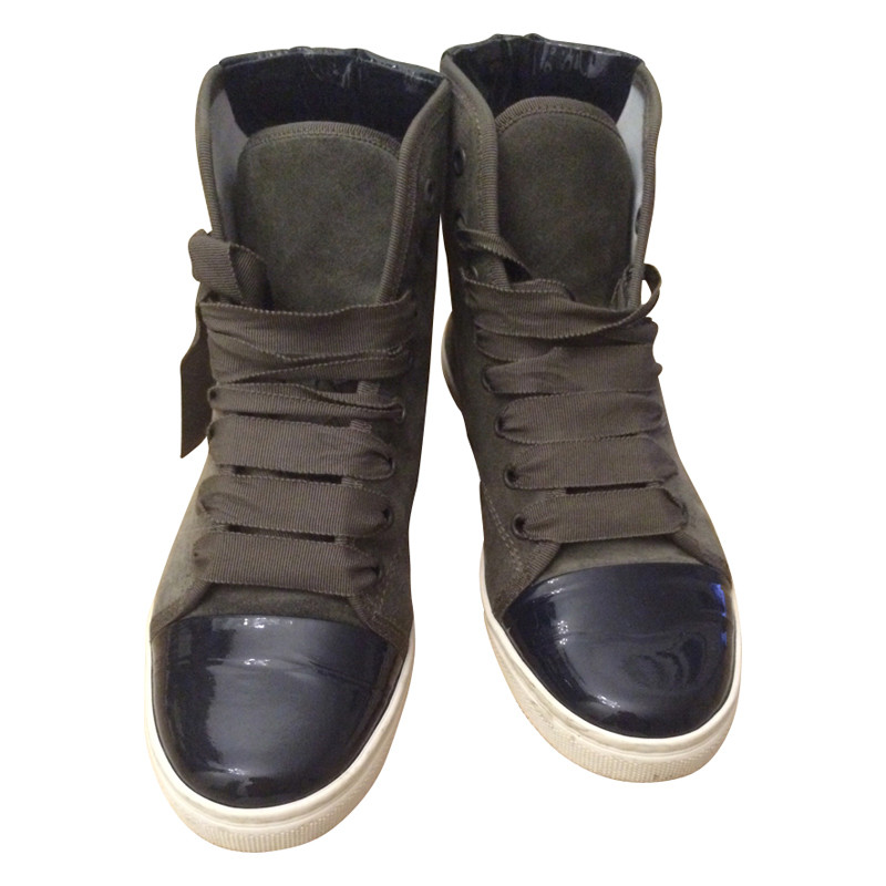 Lanvin  Sneaker with material mix