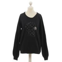 Lala Berlin Sweater mit Strasssteinen