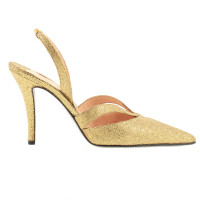 Walter Steiger Golden Pumps