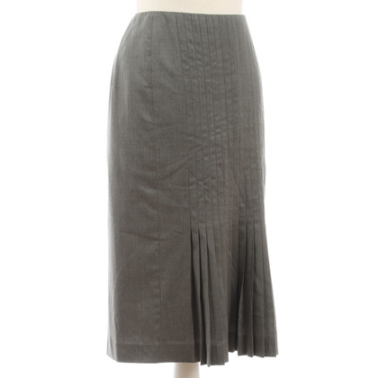 Carolina Herrera Grey skirt with pleats