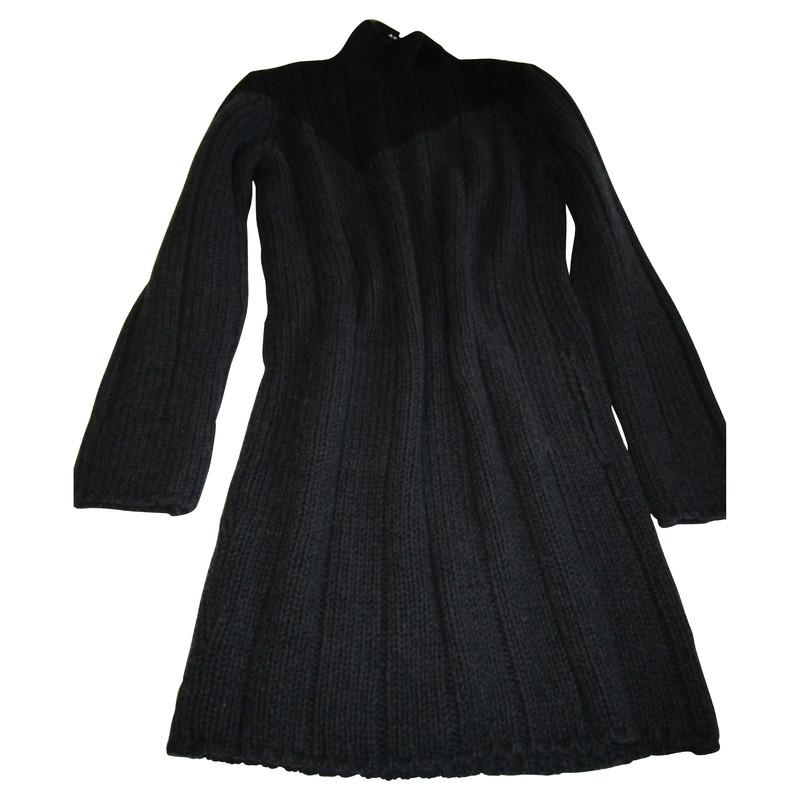 Akris Donker brei jurk
