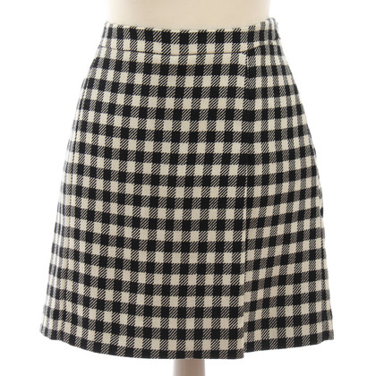Moschino skirt checkered