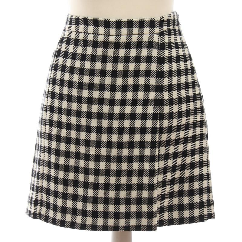 Moschino skirt checkered