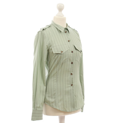 Paul Smith blouse with stripes and epaulettes