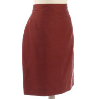 Bogner Red Seidenpencil-skirt