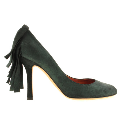 Dsquared2 Suede pumps with glitter